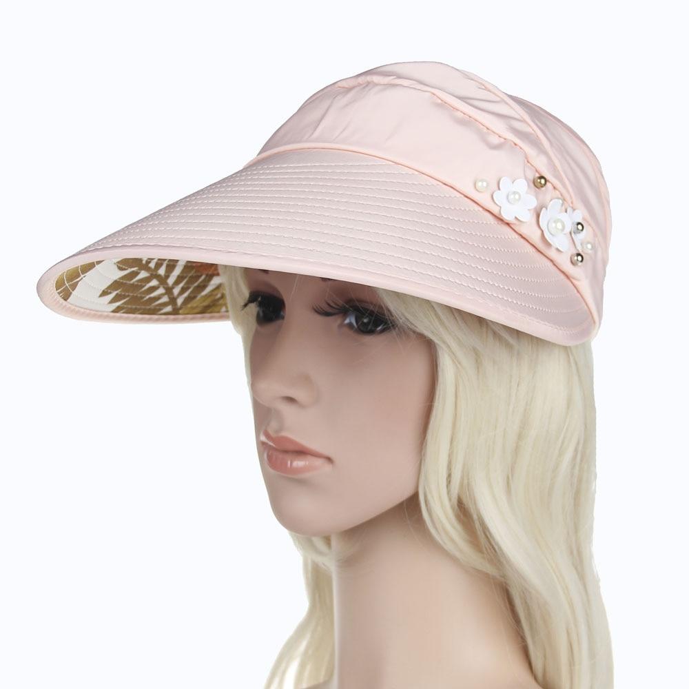 CHAMSGEND   New 2018 Summer Women's Outdoor Beach Fashion Sunscreen Cap UV Protection Caps Sun Visor Hat