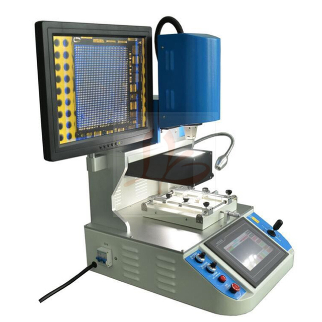 LY 5300 Automatic BGA Reballing Station 3 temperature zones BGA machine with optical alignment RU free tax