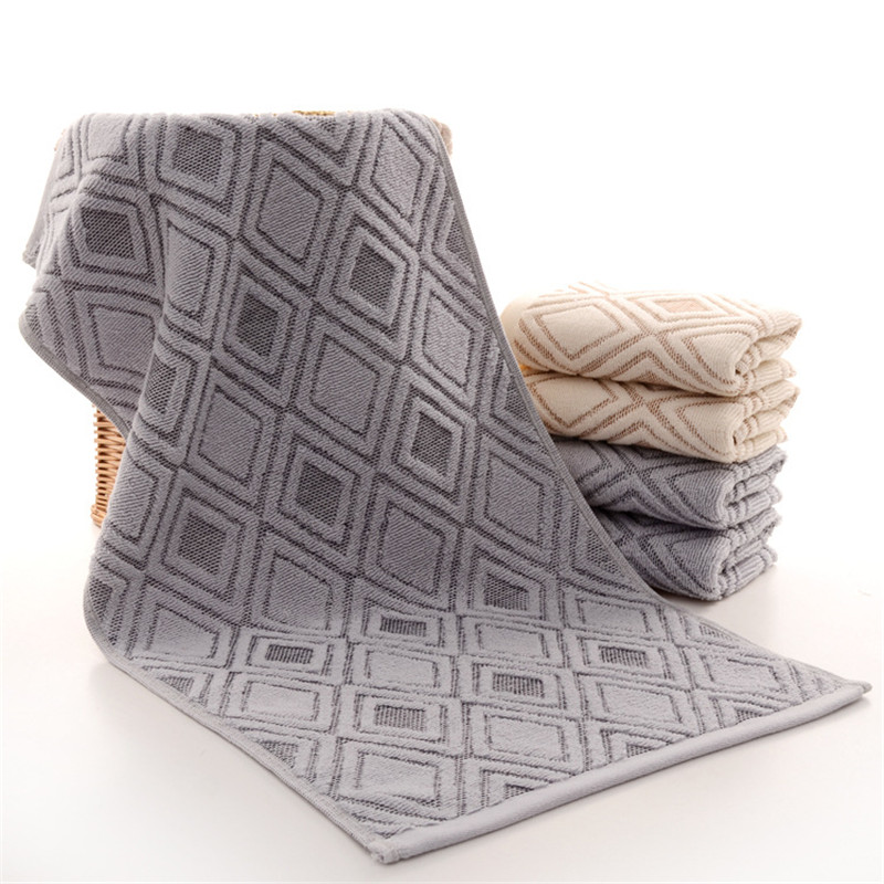 Cotton Towels Factory Direct Diamond Shaped Face Towel