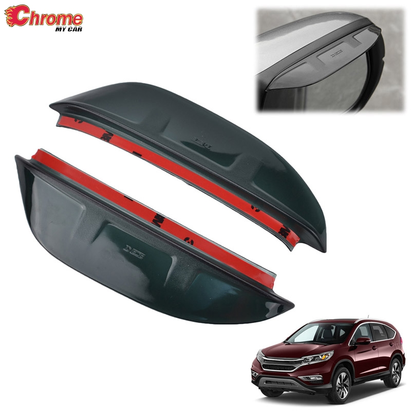 2012-2016 Fit FOR Honda CRV Bright Strips Window Visor Vent Shades Rain Guard