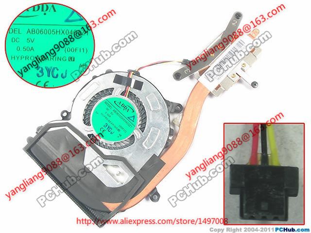 ADDA new AB06005HX0403Z1 (00FI1) SVF13 3FFI1TMN000, 3FFI1TMN010, AB06005HX0403Z1 (00FI1) Heatsink fan Free Shipping 1pcs modified sine wave dc 12v to ac 110v or 220v 1000w car power inverter converter power solar inverters