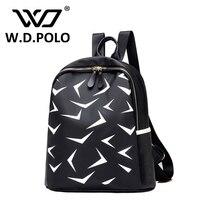 Wdpolo новые женские оксфорды Star Backpack супер шикарный образ печатные стильная леди рюкзак школьные сумки большой емкости рюкзак AA006