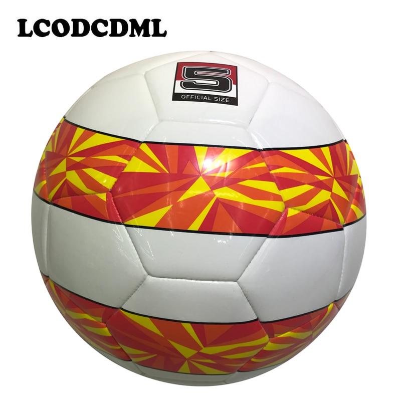 νέο στυλ υψηλής ποιότητας μέγεθος ποδοσφαίρου για ενήλικες size5 PU επαγγελματική κατάρτιση ποδοσφαίρου Αγώνας για παιδικό παιδί αθλητικό παιδί παίζει