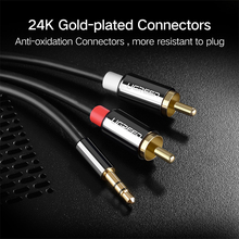 Ugreen AV116 3.5mm to 2 RCA AUX Cable