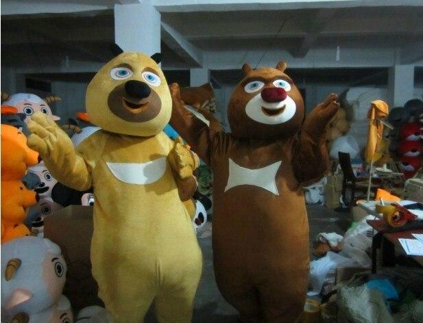 Boonie Bears mascotte Costume Cosplay partie jeu robe tenues vêtements publicité carnaval Halloween noël fête Costume - 2