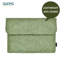 Housse de sac dordinateur portable de style ancien, étui en papier en fibre Tyvek pour MacBook Air Pro de 13.3/15.4/16 pouces