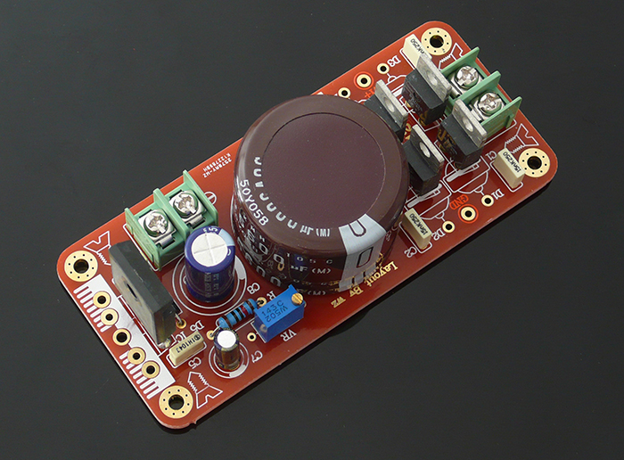 Assembled WZ-12 LT1083CP Precision Adjustable Regulated Power Supply Board