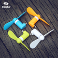 Benks USB Mini Fan for iPhone 5 / 5s / 5c / 6 / 6 Plus / 6s / 6s Plus / 7 / 7 Plus Mobile Phone Flexible Travel Mini Cooler