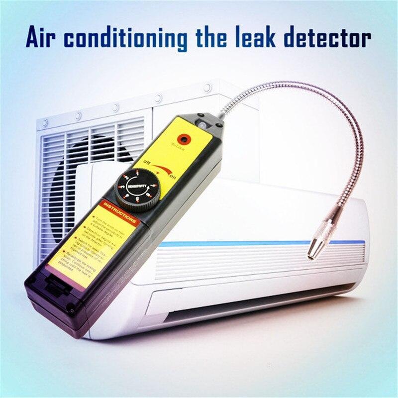 Fréon CFC HFC Halogène Gaz Réfrigérant Détecteur de Fuite Climatisation R134a R22a Compteur De Gaz Automatique Système De Réfrigération Sur Vente