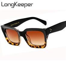 Longkeeper 2020 Модные женские солнцезащитные очки с заклепками