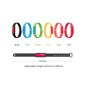 Image 5 - 5Pcs Kleurrijke Milieubescherming Siliconen Polsband Zomer Muggen Armband Anti Muggen Band Christmas Gift X