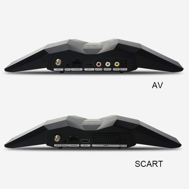 NEW ARRIVAL free shipping Original SOLOVOX R8 1080p Full HD Satellite Receiver Support Youpron YouTube CCCAM