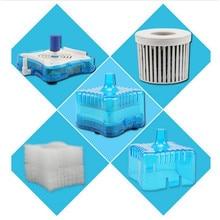 6 шт. аквариумный аквариум Супер Пневматический биохимический фильтр с активированным углем аквариумный фильтр водные питомцы продукты