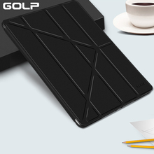 GOLP Case for iPad Mini 5 2019 Case PU Leather and soft Back Flip Stand Auto Sleep/Wake up Smart Cover for iPad Mini 4 5 2019