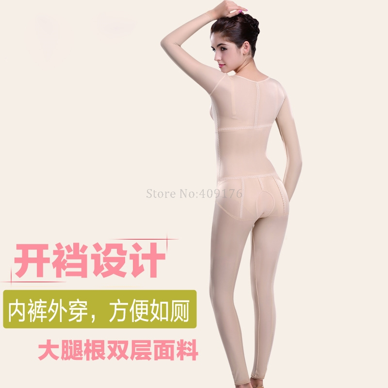 688b9a61a9911 PRAYGER Women Slimming Full Body Shapers Recovery Compression Control  Abdomen Bodysuits Lift Chest Thigh Slimmer Long Shapewear-in Control  Panties from ...