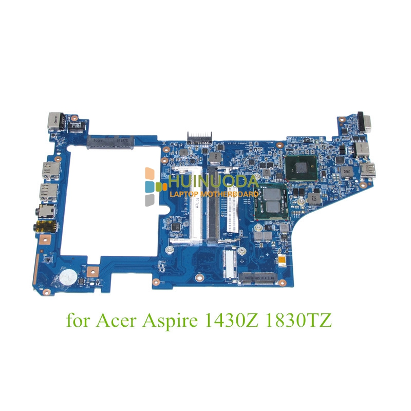 NOKOTION MB.PYW01.001 MBPYW01001 laptop motherboard For ACER 1830 1830T U5400 HM55 48.4GS01.011 JV10-CS Mainboard cpu onboard laptop keyboard for acer silver without frame czech cz sk v 121646ck2 cs aezqs300110
