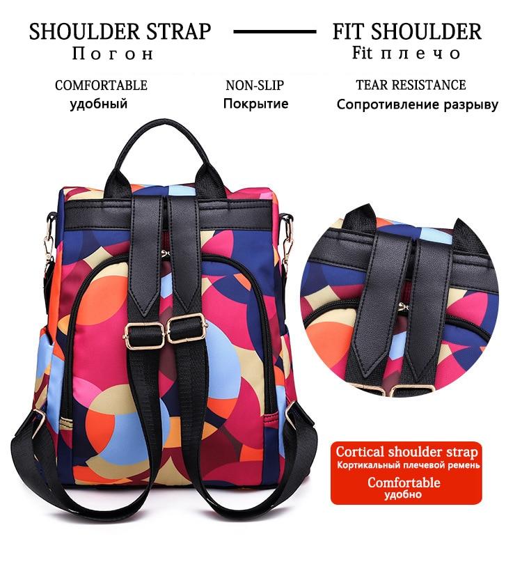 HTB1t2PZe8WD3KVjSZKPq6yp7FXan Fashion backpack women shoulder bag large capacity women backpack school bag for teenage girls light ladies travel backpack