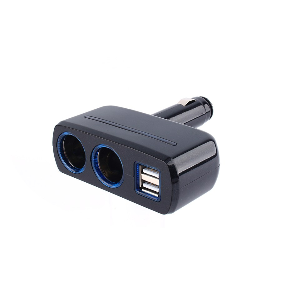Colored usb car charger - Aliexpress Com Buy Black Color Universal 12v 24v Cigarette Lighter Adapter Usb Car Chargers Dual Usb Car Charger Auto Accessories From Reliable Car