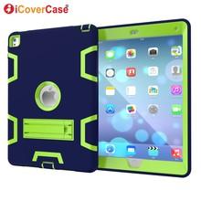 For Apple iPad Air 2 iPad 6 Case Pad Cover Soft Hard Protect