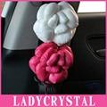 Ladycrystal 1 UNIDS Auto Cubierta Del Cinturón de seguridad Del Coche Del Cinturón de seguridad Hombrera Car Styling Traje Para Todos Los Coches