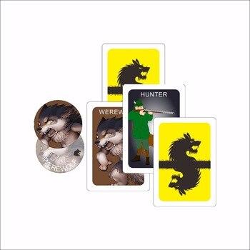1 לילה לוח משחקים אנשי זאב לבית אחד מסיבת זאב משחק אנגלית גרסת כרטיס משחק