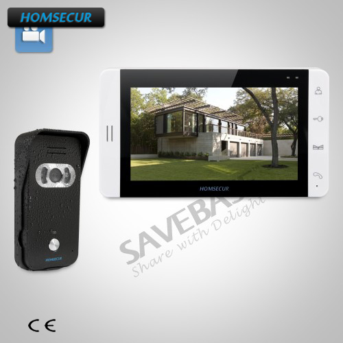 HOMSECUR 7 Wired Video Door Entry Security Intercom with IR Night Vision+Russian Local Delivery