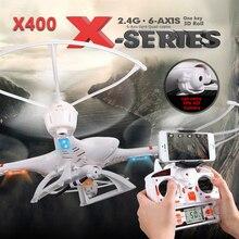 MJX X400 RC Drone 2.4G 4CH 6-Axis Télécommande RTF RC Hélicoptère Quadcopter Avec C4005 HD Caméra FPV Livraison gratuite