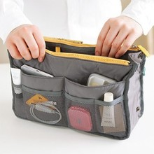 цена на Double zipper wash gargle bag double bag classification mesh bag 30*18.5*8.5CM  free shipping