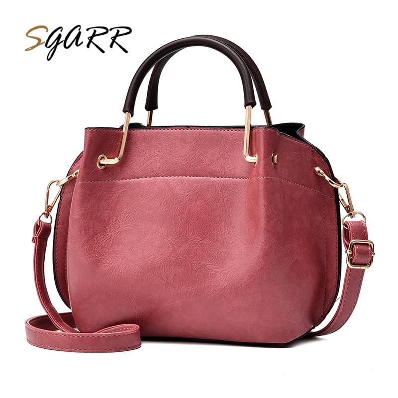 SGARR bags handbags women famous brands Pu Leather Women Messenger Bag 2017 New Zipper Fashion Luxury Ladies Purse For Sale