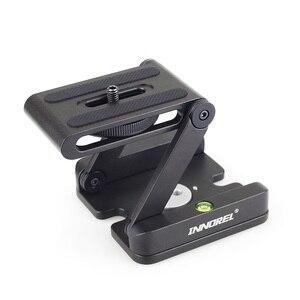 Image 3 - Innorel ZH3 Hợp Kim Nhôm Chân Máy Đầu Giải Pháp Z Pan Chân Máy Đầu Flex Gấp Gọn Kiểu Z Nghiêng Đầu Dành Cho Máy Ảnh Canon Nikon sony DSLR Camera