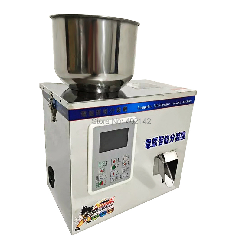 FZ-200L New Design Hot sell 2-200g tea weighing machine grain filling machine powder packing machine with LCD panel computer intelligence racking machine