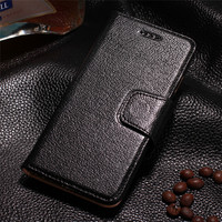 CYBORIS Luxury Business Top Yak Genuine Leather Flip Case For IPhone 5S 5 SE Fashion Ultra