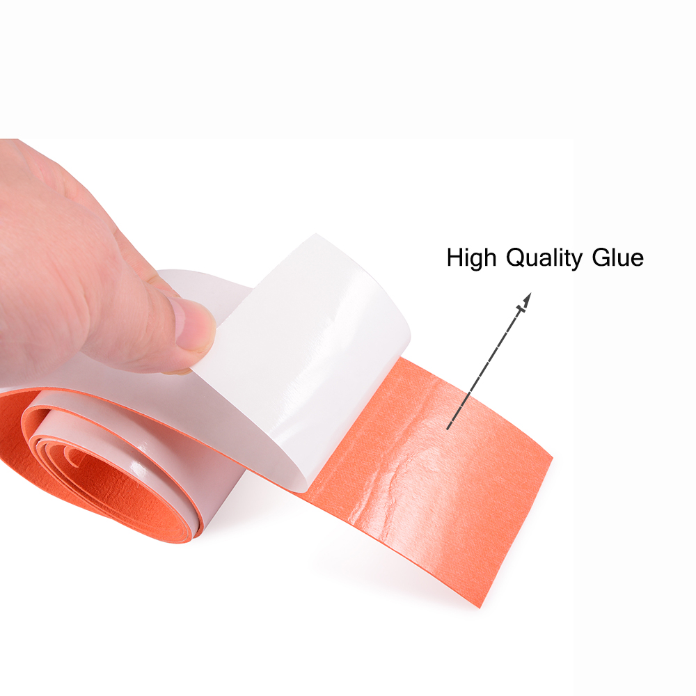 Image 5 - FOSHIO 100CM No Scratch Suede Fabric Edge Carbon Fiber Vinyl Wrap Car Tools Squeegee Auto Window Tint Scraper Protective Cloth-in Scraper from Automobiles & Motorcycles