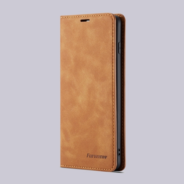 Flip Leather Wallet Galaxy S10 Case 4