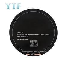 3D Printer Heating Bed Aluminum Substrate MK3 Circular Hot Bed Diameter 240MM