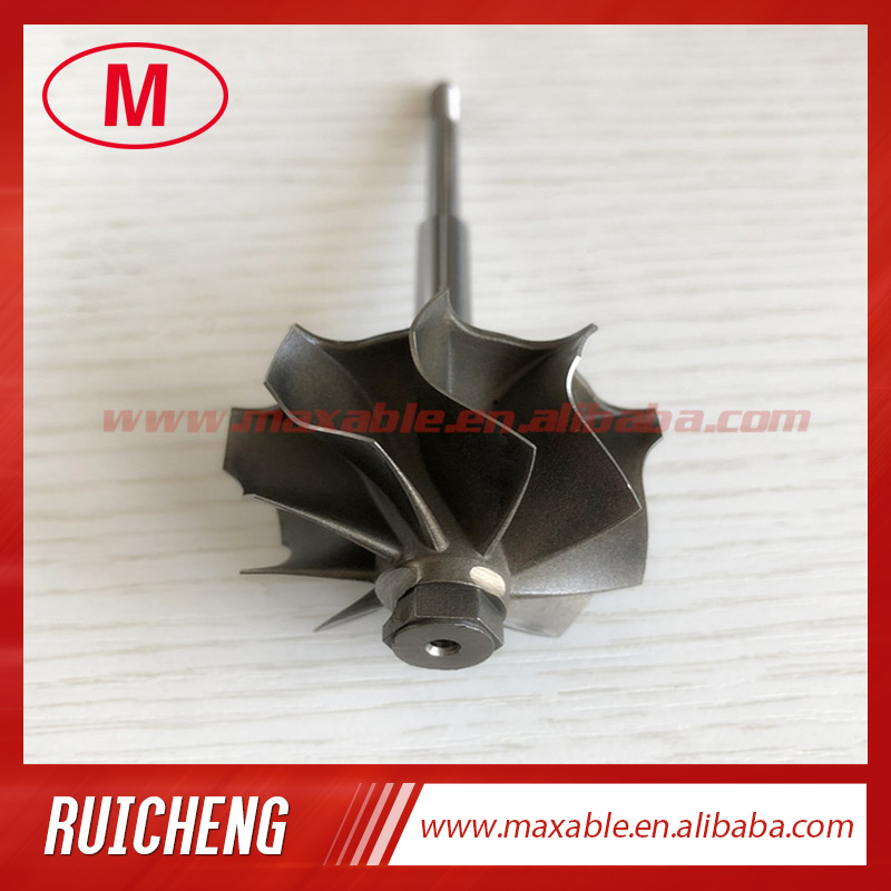 TD04L 41 2 47 2mm 9 blades turbine shaft turbo wheel turbo shaft