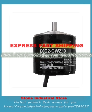 E6C2-CWZ1X 360P/R 2M encoder E6C2-CWZ1X encoder 5 VDC Diameter 50 mm series 100% Tested Good Qualiy