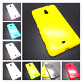 New colorful silicone soft gel tpu cover case For Nokia Lumia 1320 case cover Free Shipping