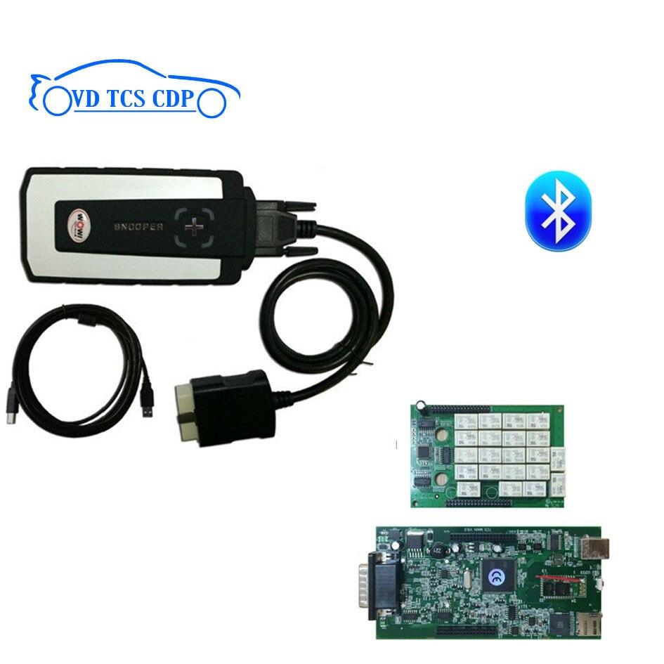 Ne-c RELAIS 2017 WOW SNOOPER Bluetooth avec boîte nouvelle apparence v5.008 R2 version avec keygen VD tcs cdp pro