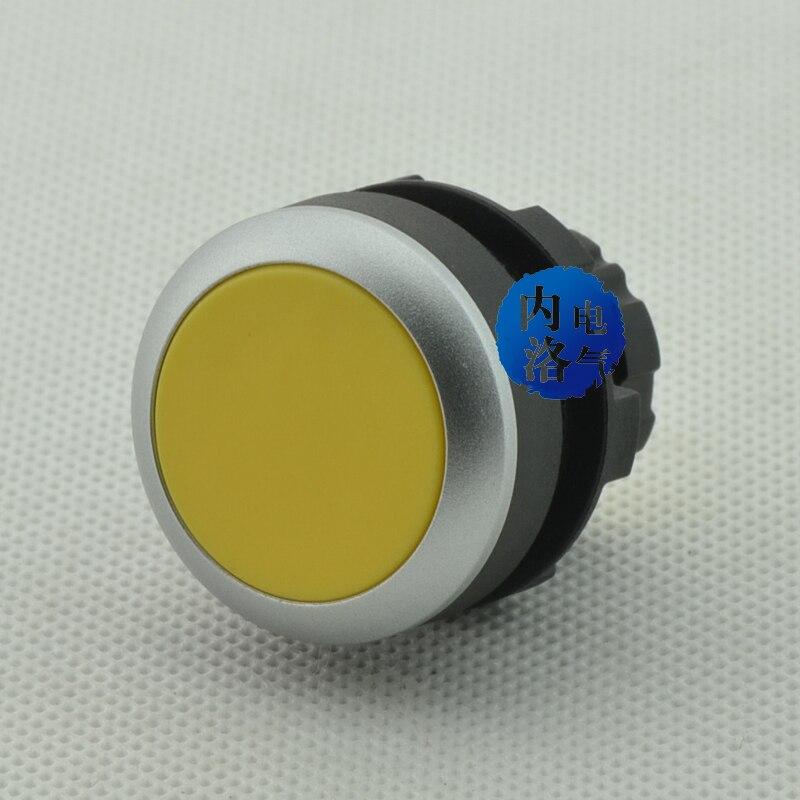 [SA] EMA 22 мм с плоской головкой лампа с кнопкой переключателя самосброс E2P1* цвет красный, желтый синий и черный один замыкающий- 10 шт./лот