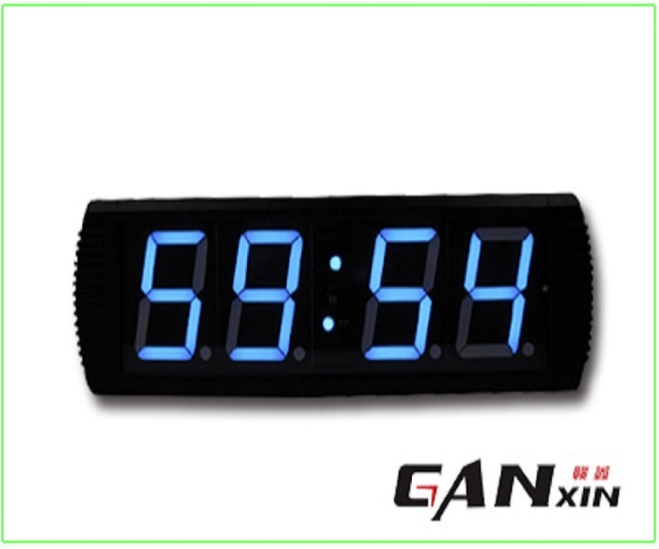 [Ganxin]Hot Selling Led Remote Control Modern Designer wall Clock with Low Price