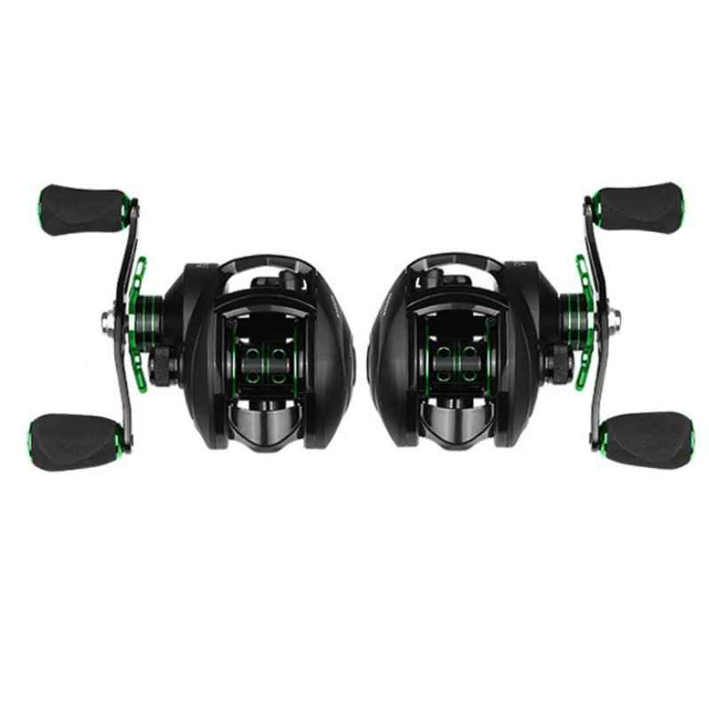 1 Set Throw 8.1: 1 Fishing Reel 8 KG Max Drag Left Right Hand Reinforced Micro-objects Water Drop Wheel Reels Body Fishing Line