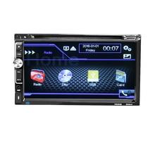 "6060B Universal 2 Din Auto DVD player 6,95 ""Auto Autoradio Video/Media Mp5 mp4 Auto Stereo audio player"