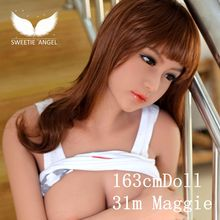 WMdoll 163cm Maggie love doll silicone doll vagina anal pussy adult doll