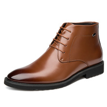купить 2019 simple and stylish sewing thread shock absorption new men's Martin boots trend retro British style tooling low shoes men по цене 3055.3 рублей