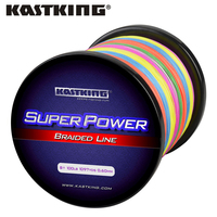 KastKing 1000M 8 Strand Braided Fishing line Durable Multifilament PE Braided Line for Bass Carp Fishing