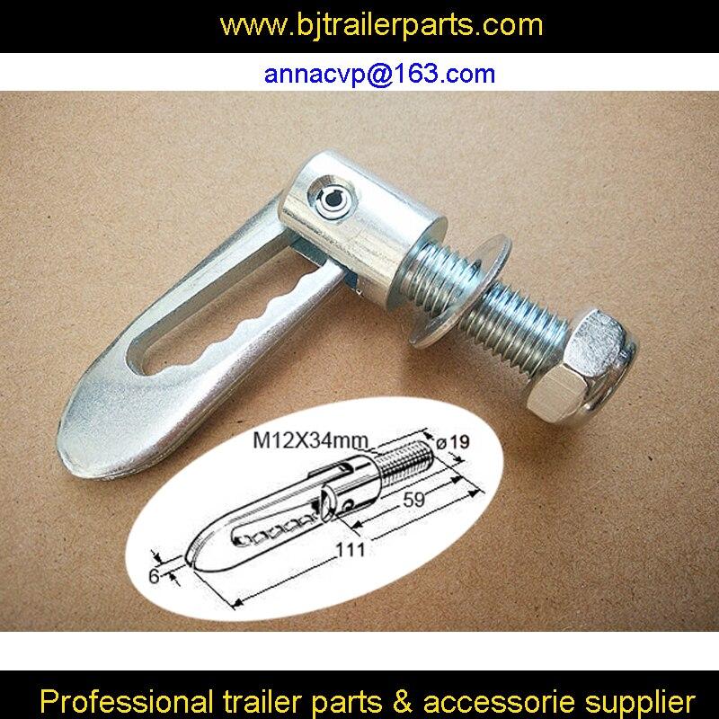 Anti Luce M12 X 34mm Drop Catch Tail Gate Fastener Trailer
