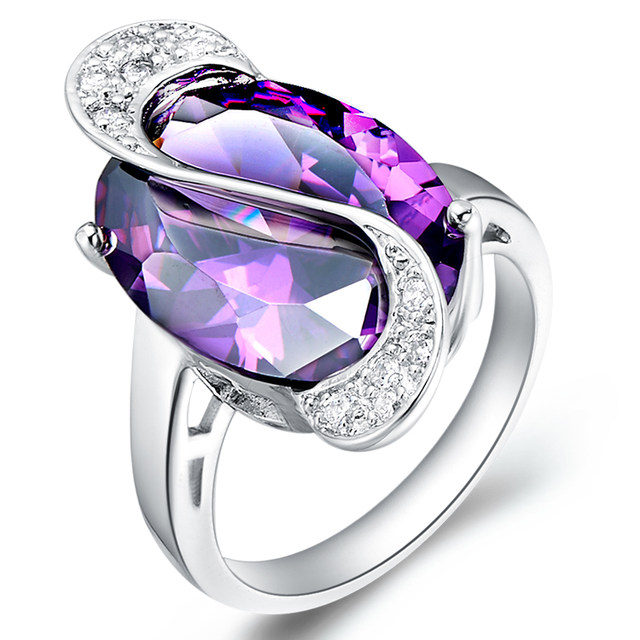 Online Shop Uloveido 50 off Wedding Rings for Women Costume Jewelry