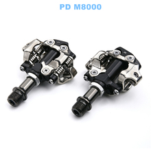 купить MTB Bicycle SPD Pedal For SHIMANO DEORE XT PD M8000 Self-Locking Clipless Pedals With Cleats Mountain Bike Pedales Bicicleta по цене 2605.25 рублей