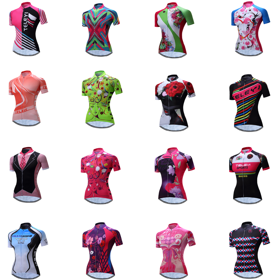 Bib Shorts Biking Cycling Sets Sports Bicycle Clothing Kit Women/'s Bike Jersey